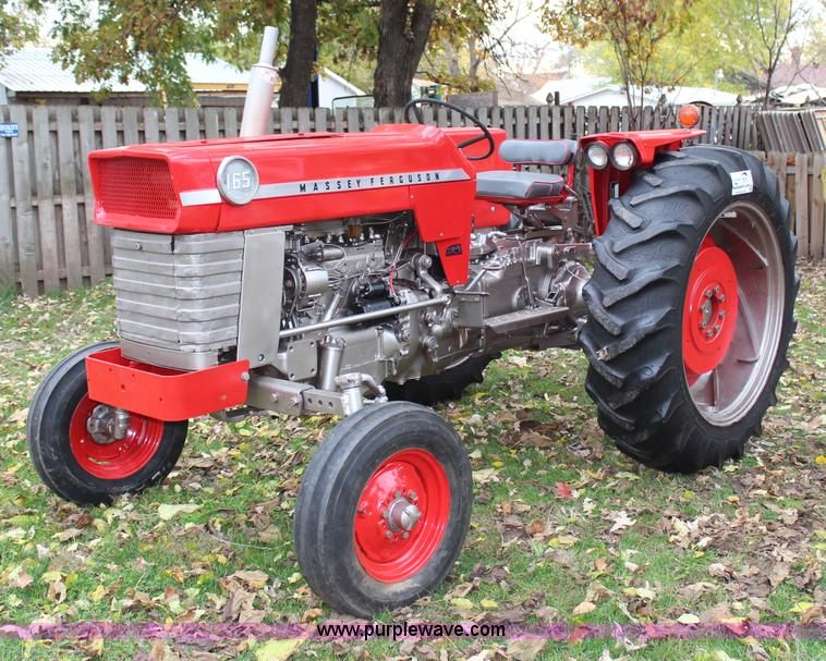 1970 Massey Ferguson Lawn Tractor : Massey ferguson tractor no reserve auction on