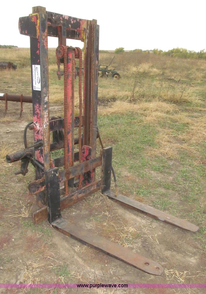 Tractor 3 Pt Lift : Three point forklift attachment no reserve auction on
