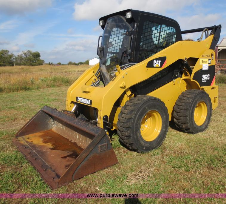 F6729.JPG - 2009 Caterpillar 262C skid steer , 317 actual hours , Caterpillar C3 4 T four cylinder turbo diesel ...