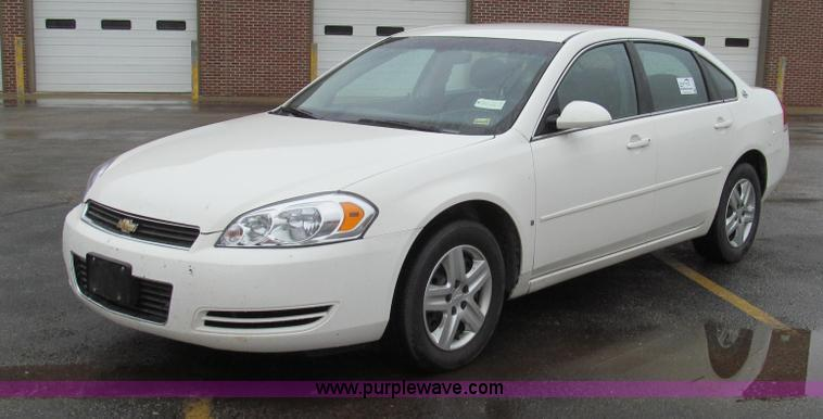G2172.JPG - 2007 Chevrolet Impala LS , 158,244 miles on odometer , 3 5L V6 OHV 16V FFV gas engine , Automatic tr...