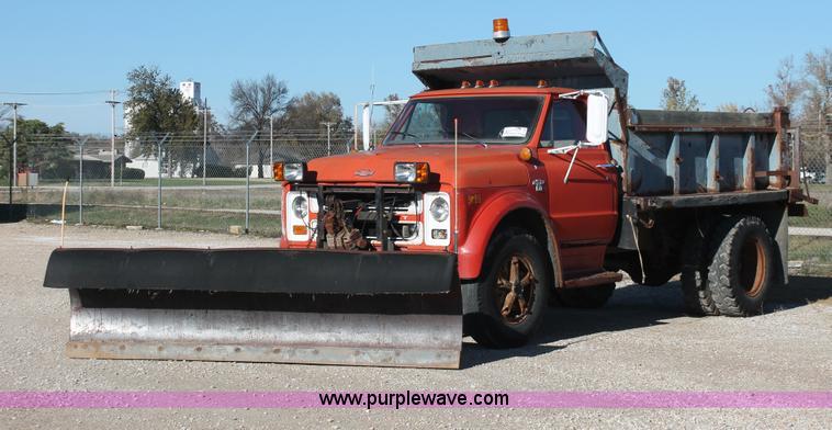 1968 Chevrolet C60 Dump Truck No Reserve Auction On
