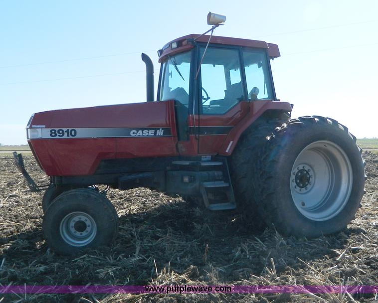 AZ9039.JPG - 1997 Case IH 8910 tractor , 3,423 hours on meter , Hours may vary, unit is still in use , Six cylind...