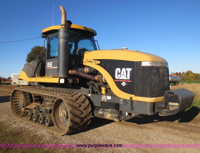 F6730.JPG - 1998 Caterpillar Challenger 85E tractor , 8,414 hours on meter , Caterpillar six cylinder diesel eng...