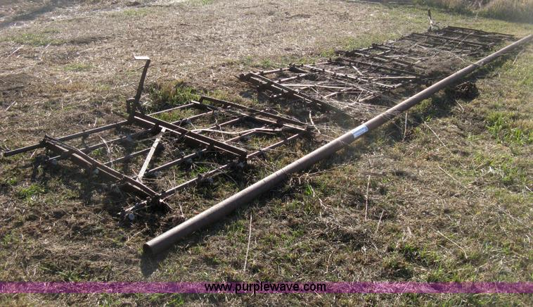 Four Section Drag Harrow No Reserve Auction On Wednesday