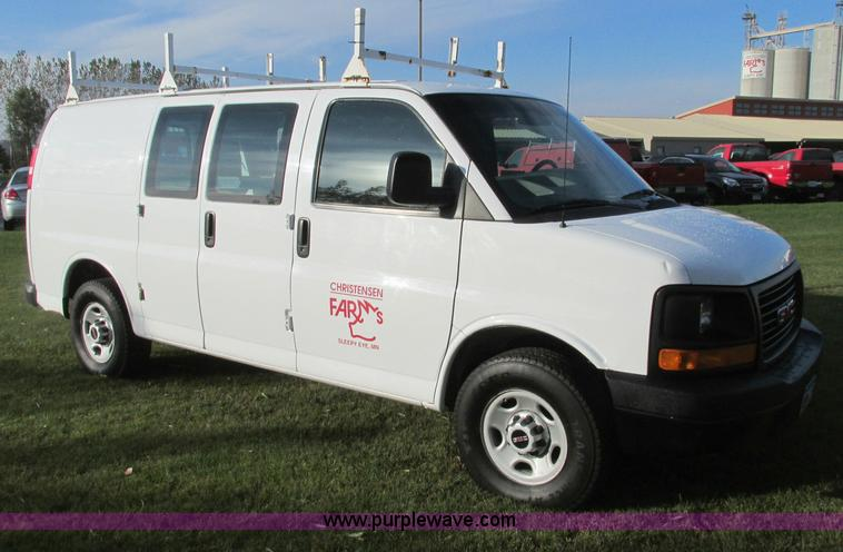E5216.JPG - 2008 GMC Savana G2500 van , 203,204 actual miles , 4 8L V8 OHV 16V gas engine , Automatic transmissi...