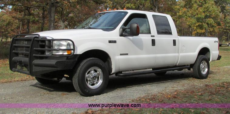 I4967.JPG - 2004 Ford F350 Super Duty pickup truck , 276,610 actual miles , 6 0L V8 OHV 32V turbo diesel engine ...