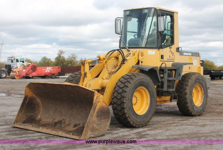 H4197.JPG - 1999 Komatsu WA180 3L Advance articulated wheel loader , 6,187 hours on meter , Komatsu 5 9L six cyl...