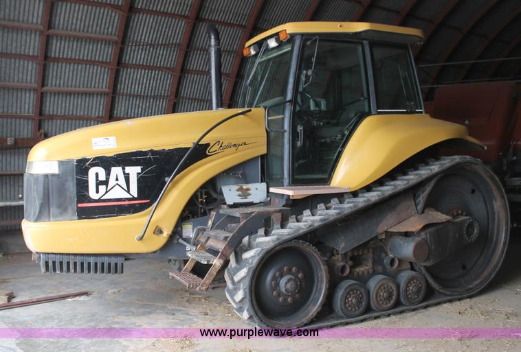 G5863.JPG - 1996 Caterpillar Challenger 35 tractor , 6,098 hours on meter , Hours may vary, still in use , Cater...