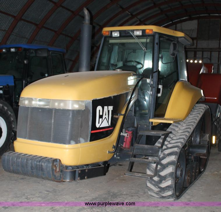 G5865.JPG - 1995 Caterpillar Challenger 35 tractor , 10,114 hours on meter , Hours may vary, still in use , Cate...