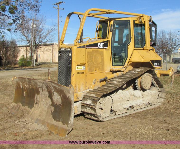 I4966.JPG - 2005 Caterpillar D5N XL dozer , 6,302 hours on meter , Caterpillar 3126 493 C I D diesel engine , Se...