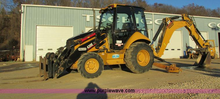 I4215.JPG - 2006 Caterpillar 430E IT backhoe , 4,036 hours on meter , Hours may vary, unit is still in use , CAT...