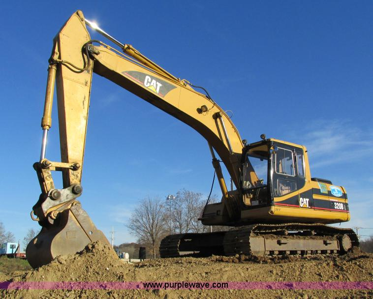 I4216.JPG - 1997 Caterpillar 320BL excavator , 14,945 hours on meter , Hours may vary, unit is still in use , Ca...