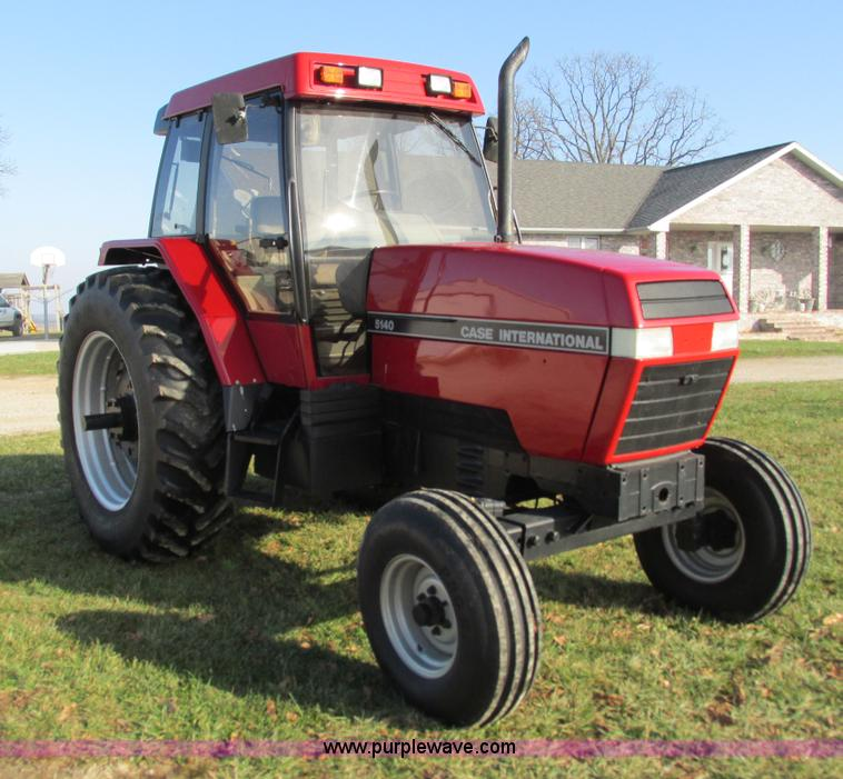 G9384.JPG - 1990 Case IH 5140 tractor , 9,920 hours on meter , Case 6T 590 six cylinder turbo diesel engine , Se...