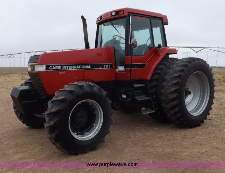 I9246.JPG - 1990 Case IH 7140 MFWD tractor , 6,027 hours on meter ...