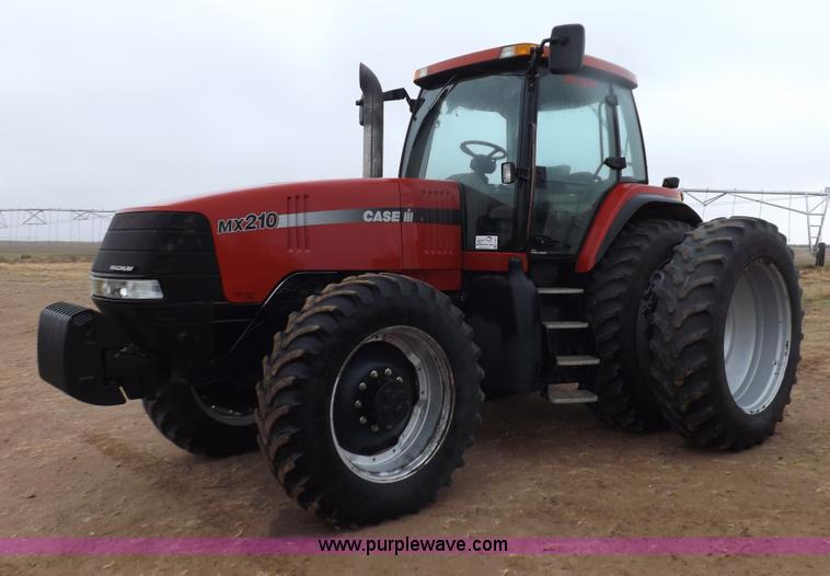 I9247.JPG - 2005 Case IH MX210 MFWD tractor , 3,761 hours on meter , Case IH 8 3L six cylinder turbo diesel engi...