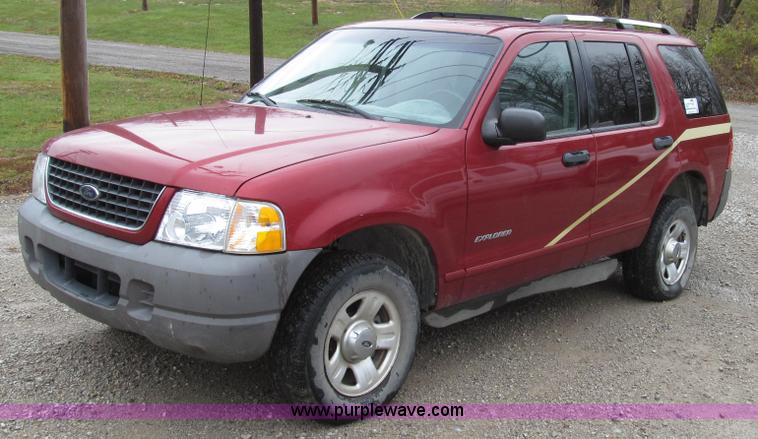 G2192.JPG - 2002 Ford Explorer XLS SUV , 86,920 miles on odometer , 4 0L V6 SOHC 16V gas engine , Automatic tran...
