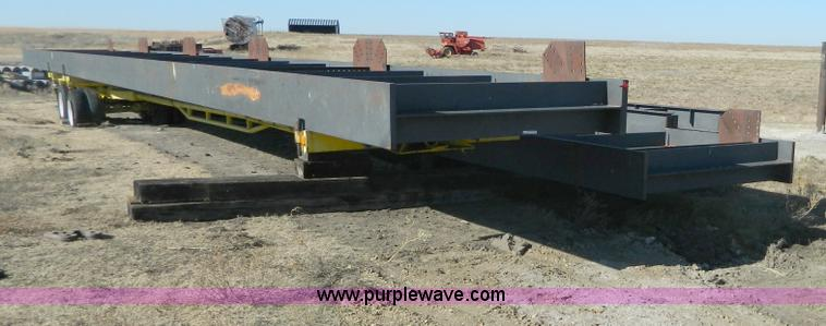 AZ9015.JPG - 80 x 22 girder bridge , Shoes, glide plates, and retainers included , Rated at 320 ton capacity , In...