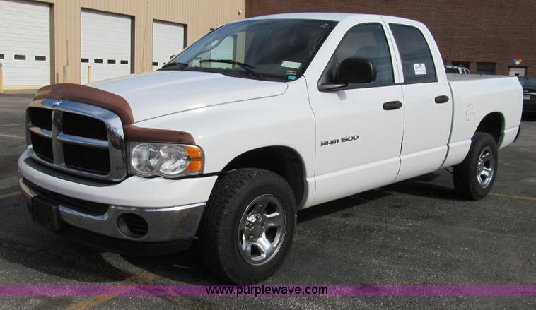 G2178.JPG - 2004 Dodge Ram 1500 ST Quad Cab pickup truck , 222,674 miles on odometer , 4 7L V8 SOHC 16V FFV gas ...