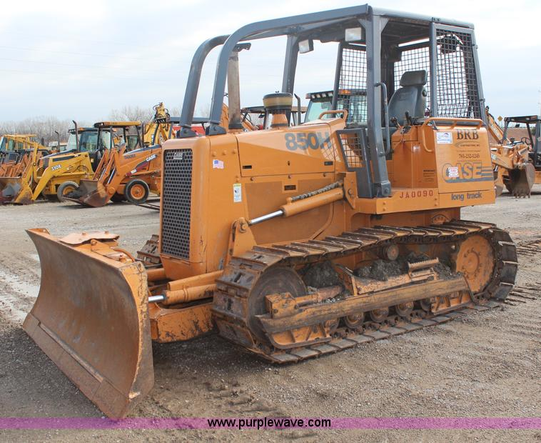 H7918.JPG - 2000 Case 850H long track dozer , 5,289 hours on meter , Case 6T 590 5 9L six cylinder diesel engine...