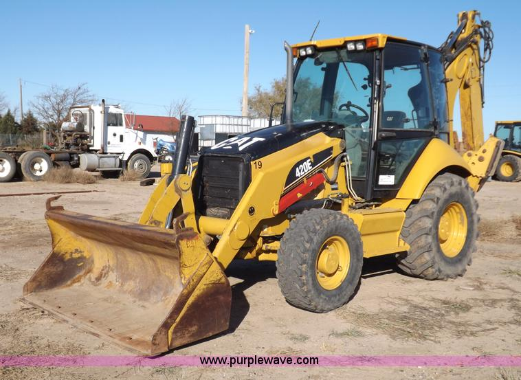 I8255.JPG - 2007 Caterpillar 420E backhoe , 3,317 hours on meter , Caterpillar C4 4DIT 4 4L turbo diesel engine ...
