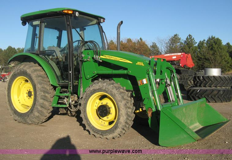 H4335.JPG - 2009 John Deere 5083E Limited MFWD tractor , 187 actual hours , John Deere Power Tech 4045 276 C I D...