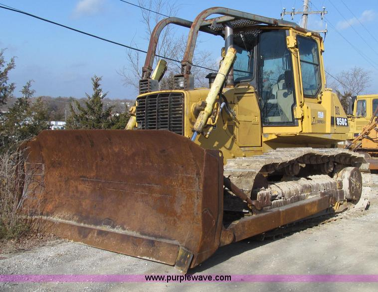 G2212.JPG - 1996 John Deere 850C Series II dozer , 2,064 hours on meter , Unknown actual hours , John Deere 7 6L...