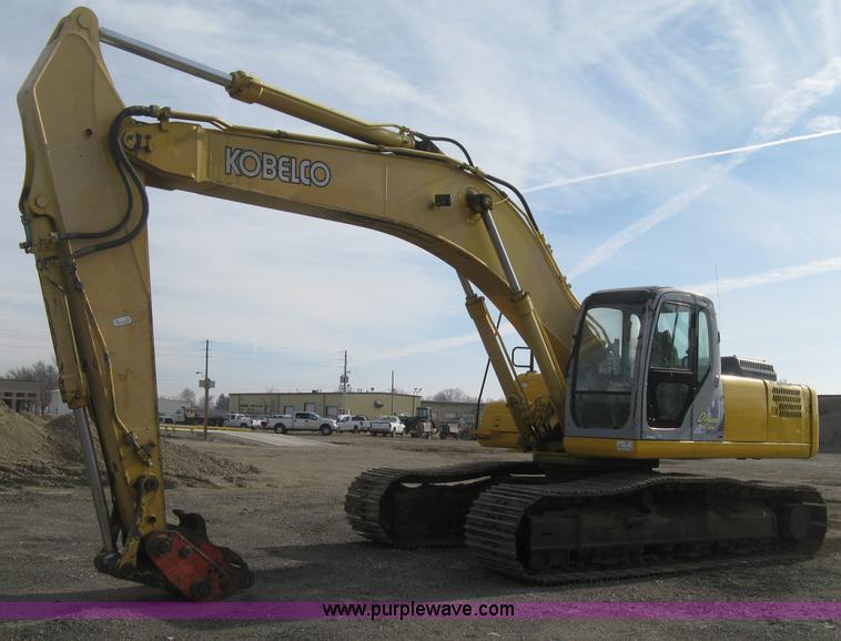 H4319.JPG - 2001 Kobelco SK330LC Dynamic Acera excavator , 10,314 hours on meter , Mitsubishi 6D16 diesel engine...