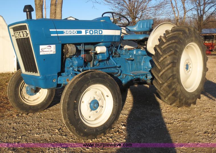 Ford 3600 Tractor Manual : Ford tractor no reserve auction on wednesday