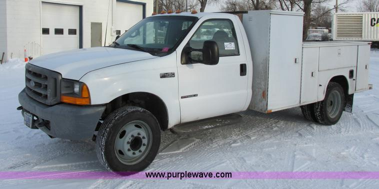 E5250.JPG - 2000 Ford F450 Super Duty XL utility truck , 170,217 actual miles , 7 3L V8 turbo diesel engine , Si...