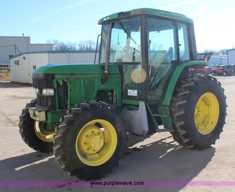 H7815.JPG - 2000 John Deere 6410 MFWD tractor , 7,829 hours on meter , John Deere 4045T four cylinder diesel eng...