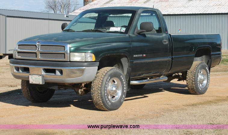 2001 Dodge Ram 2500 Pickup Truck No Reserve Auction On