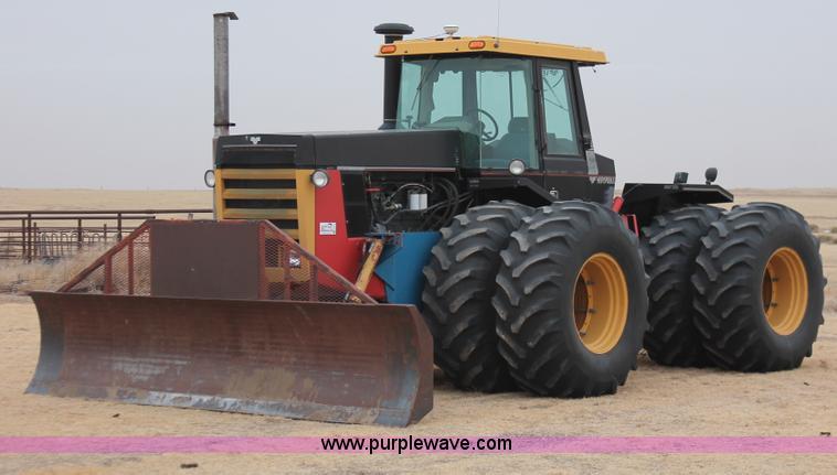 H8315.JPG - 1986 Versatile 936 4WD tractor , 9,385 hours on meter , Cummins NTA 855 A 14 0L six cylinder diesel ...