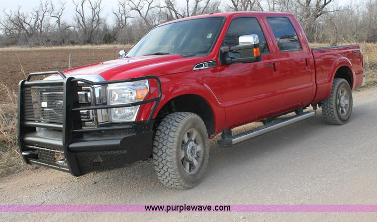 C3699.JPG - 2011 Ford F250 Super Duty Crew Cab pickup truck , 167,823 actual miles , 6 2L V8 OHV 16V gas engine ...