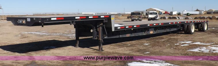 I9222.JPG - 2012 Transcraft step deck trailer , 53L x 8 5W , Wood deck , 11 upper deck , 42 lower deck , 42 quot...