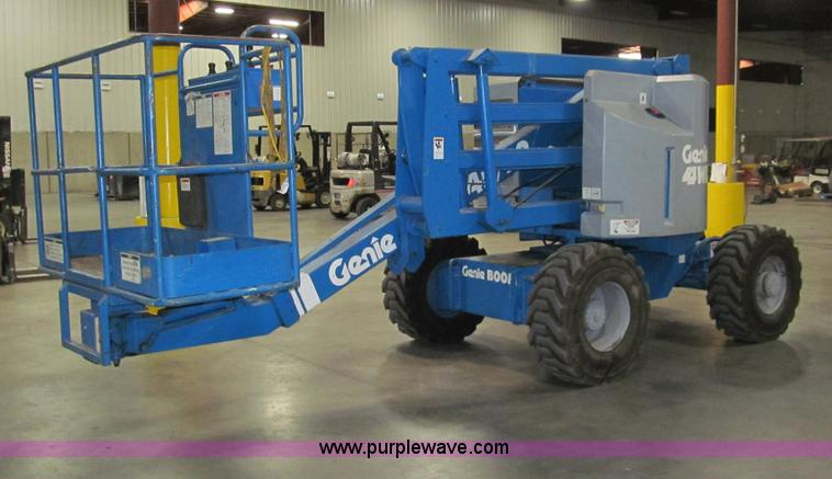 G9604.JPG - 1986 Genie Z45/22 articulating boom lift , 2,905 hours on meter , Ford LRG 423 four cylinder dual fu...