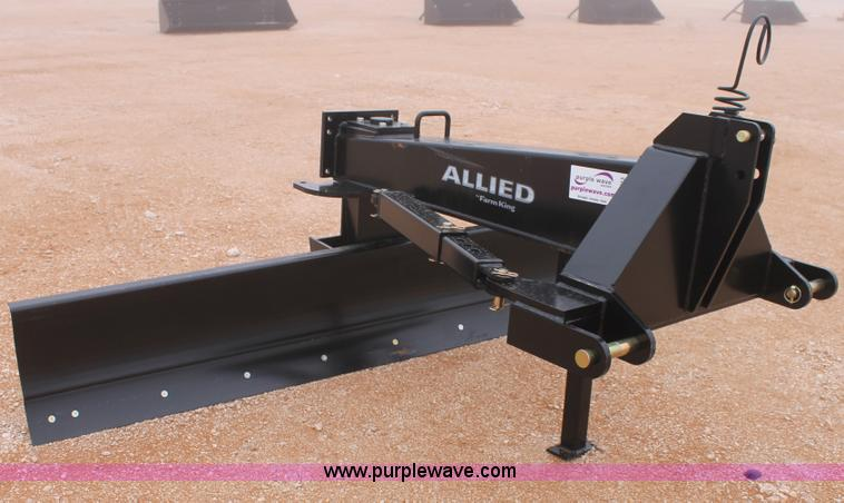 C3713.JPG - Allied FarmKing 100 rear blade , 9W , Category II or III three point hitch , 30 degree left or right...