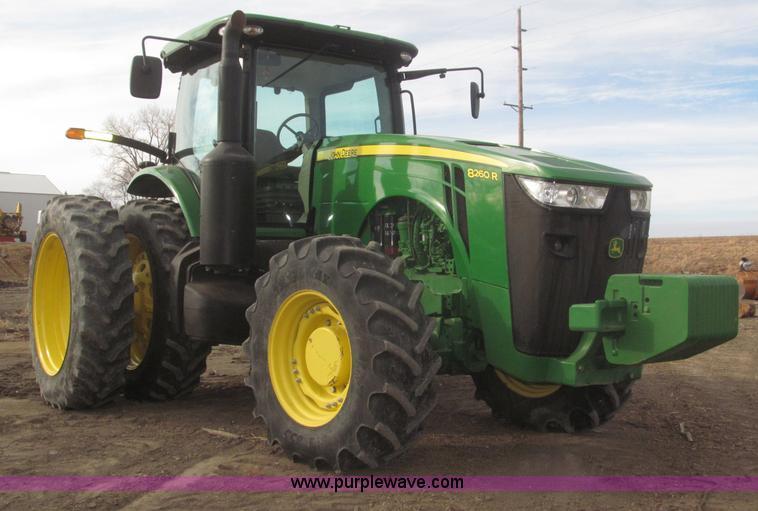 F7228.JPG - 2011 John Deere 8260R MFWD tractor , 2,914 hours on meter , John Deere PowerTech PSX 9 0L six cylind...