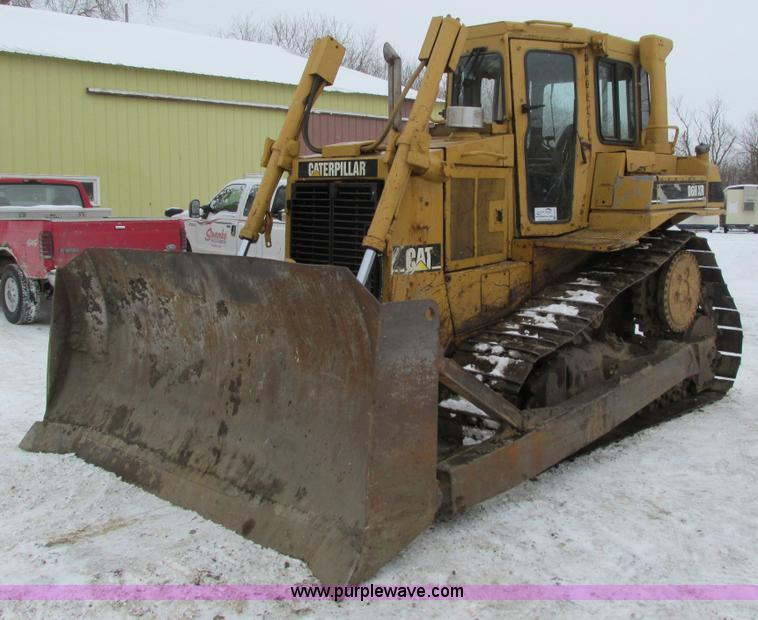 G8894.JPG - Caterpillar D6H XR Series II dozer , 7,578 hours on meter , Caterpillar 3306 turbo diesel engine , P...