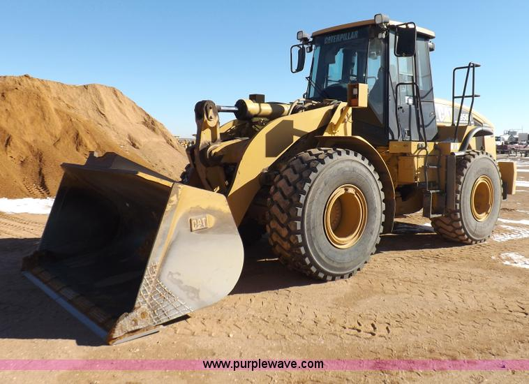 I9191.JPG - 2006 Caterpillar 950H wheel loader , 12,760 hours on meter , Caterpillar six cylinder turbo diesel e...