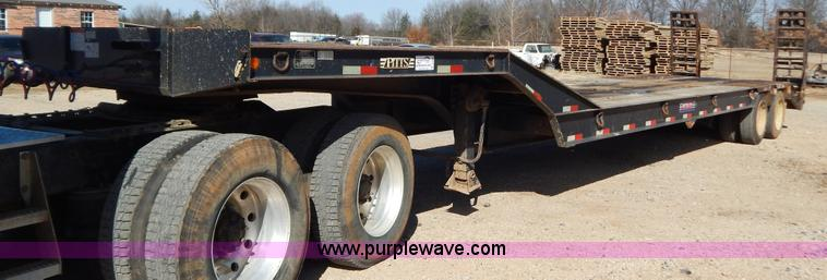 B4824.JPG - 2005 Pitts LR35 38CS drop deck trailer , 45L x 9W deck , 27L deck , 4L dovetail , 6L x 2W ramps , Si...