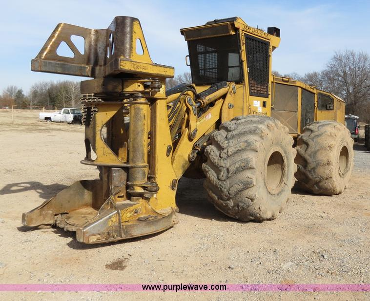 B4845ZZZZ.JPG - 2007 Tigercat 724E feller buncher , 7,133 hours on meter , Cummins QSB6 7 Tier IV 6 7L six cylinder ...