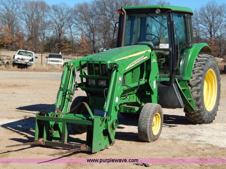 B4864.JPG - 2004 John Deere 6615 tractor , 3,403 hours on meter , John Deere 6068HL271 six cylinder diesel engin...