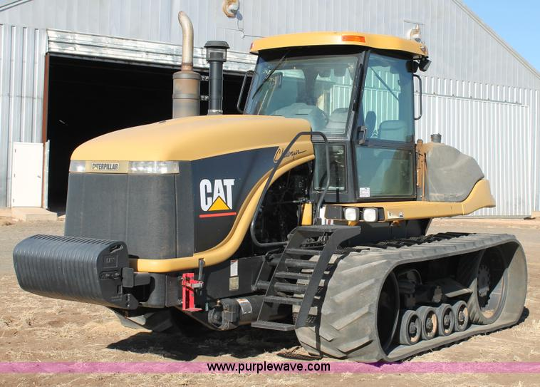 C3742.JPG - 2001 Caterpillar Challenger 85E tractor , 2,754 hours on meter , Caterpillar 3196 22 9L six cylinder...