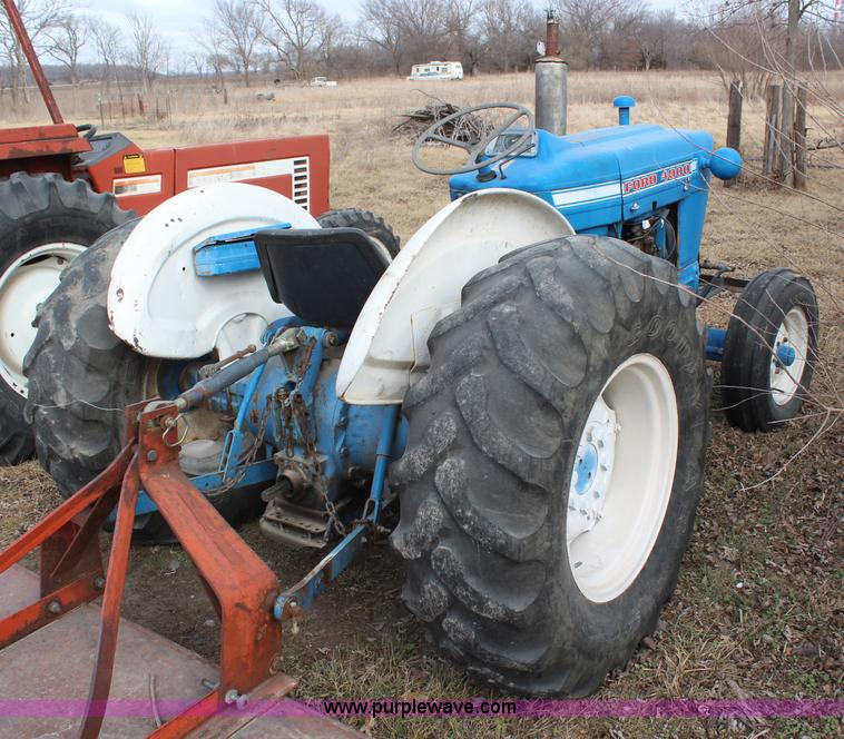 Ford 4000 Tractor Air Filter : Ford tractor no reserve auction on wednesday