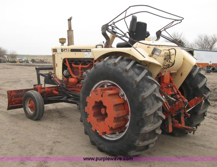 Case 930 Comfort King : Case comfort king tractor no reserve auction on
