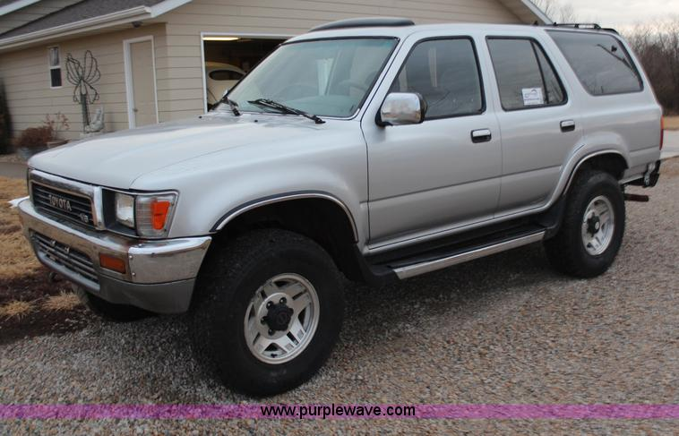 Vehicles and equipment auction colorado auctioneers for 1990 toyota 4runner rear window motor