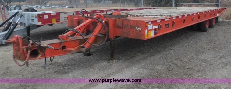 F6812.JPG - 1996 Landoll 345 31 trailer , 31L x 102 quot W , 29 quot dovetail , Tilt deck , Braden winch , 20 to...