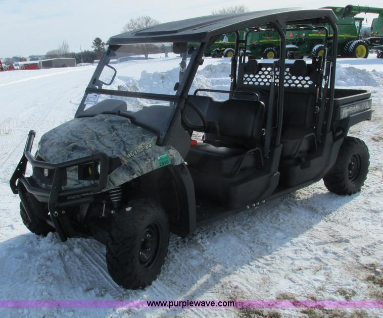 G8866.JPG - 2012 John Deere 550 S4 Gator utility vehicle , 54 actual hours on meter , 570cc V twin gas engine , ...