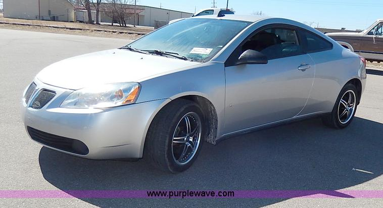 I9312.JPG - 2008 Pontiac G6 GT , 61,046 miles on odometer , 3 5L V6 OHV 12V gas engine , Automatic transmission ...