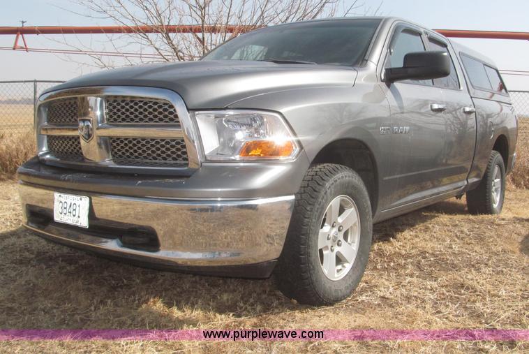 F7294.JPG - 2009 Dodge Ram 1500 SLT Quad Cab pickup truck , 123,838 miles on odometer , 5 7L V8 OHV 16V gas engi...
